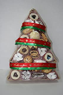 3-lb Christmas Tree Basket -Assortment Cookie