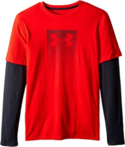 Under Armour Kids - Knit 2-in-1 Long Sleeve (Big Kids)
