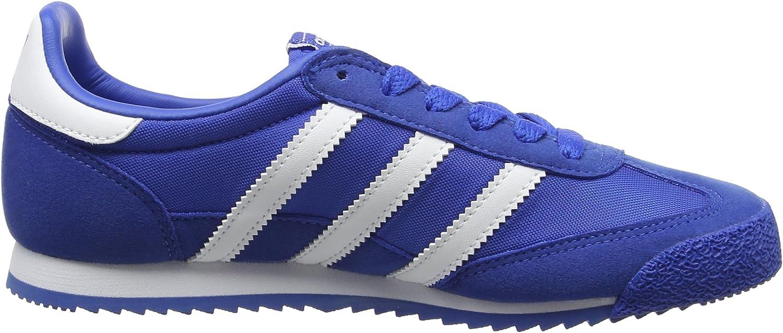 Amazon.com | adidas - Dragon OG J - BB2486 - Color: Blue - Size ...