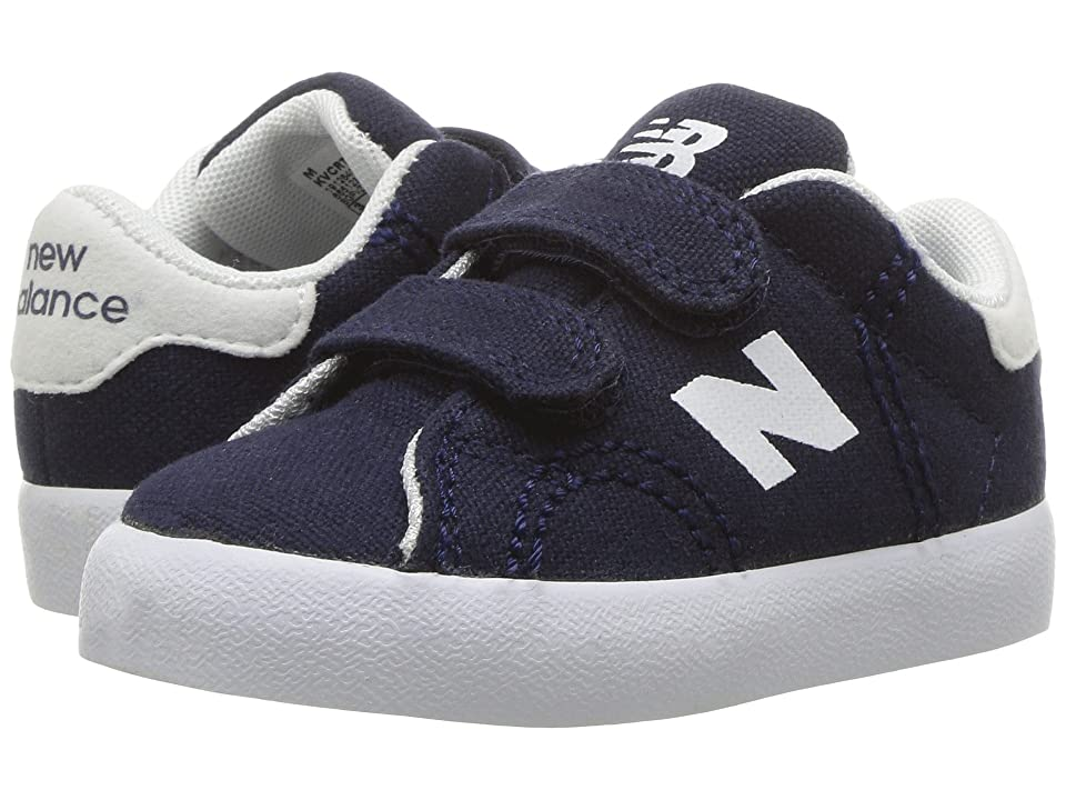New Balance Kids Pro Court (Infant/Toddler) (Navy/White) Boys Shoes