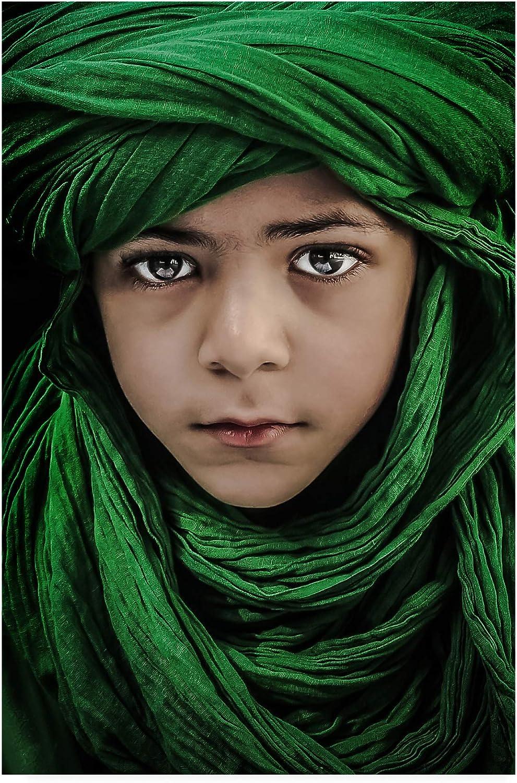 Trademark Fine Art Green Boy by Saeed Dhahi, 12x19