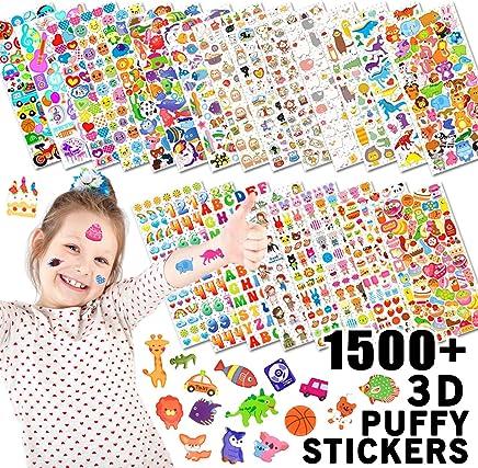 13c2560f67f85 Wenet Stickers 3D en Relief pour Enfant