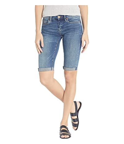 Blank NYC Denim Bermuda Roll Up Shorts in Vendetta (Vendetta) Women
