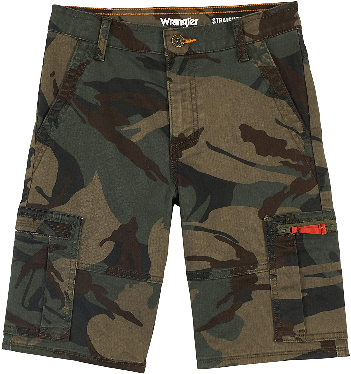 Wrangler Boys' Albuquerque Mall New product! New type Straight Cargo Shorts Fit