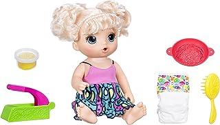 Baby Alive Muñeca C09638020. Modelo Que Come spaguettis, con máquina para hacerlos