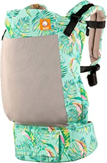 Baby Tula Toddler Coast Carrier (TBCP9F56), Electric Leaves