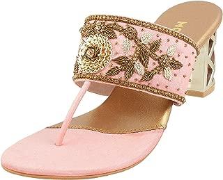 Mochi Women Synthetic Sandals (35-3298)