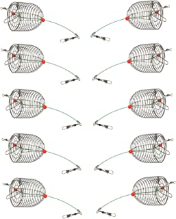 Best cage feeder fishing Reviews