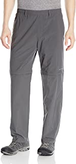 Columbia Men's Backcast Convertible Pants, Grill, XX-Large x 30