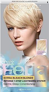 L'Oréal Paris Feria Multi-Faceted Shimmering Permanent Hair Color, 205 Bleach Blonding (Extra Bleach Blonde) (1 Kit) Hair Dye