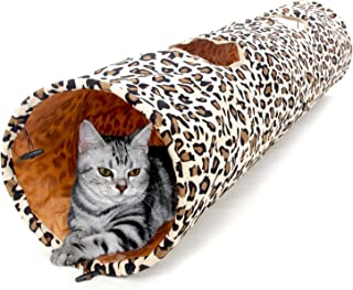 PAWZ Road Cat Toys Collapsible Tunnel Dog Tube for Fat Cat,Rabbits,Dogs Length 51