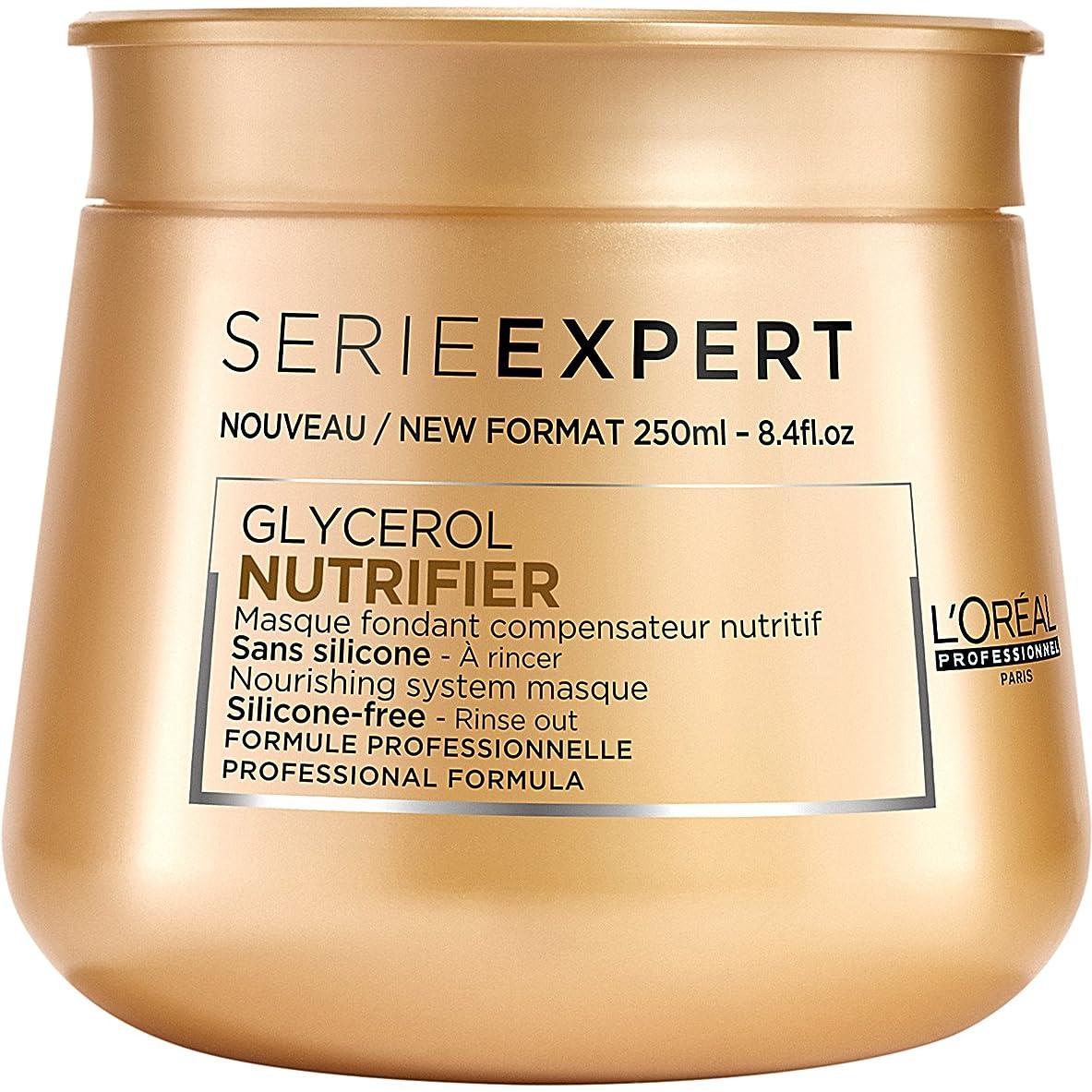 突き出す病者悲観的L'Oreal Serie Expert Glycerol NUTRIFIER Nourishing System Masque 250 ml [並行輸入品]