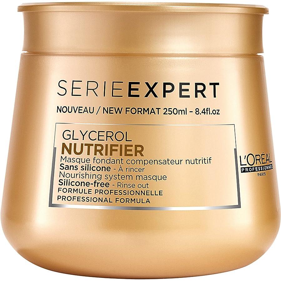 受け皿愛されし者フルーツL'Oreal Serie Expert Glycerol NUTRIFIER Nourishing System Masque 250 ml [並行輸入品]