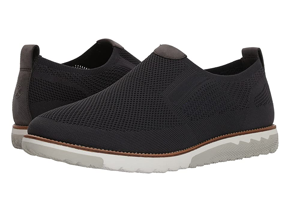 Hush Puppies Expert MT Slip-On (Dark Grey Knit/Nubuck) Men