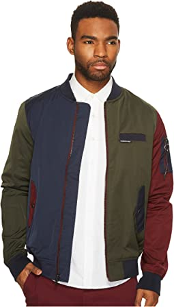Members Only - Color Block Bomber Jacket