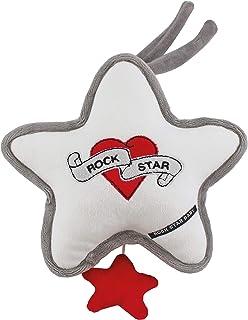 ROCK STAR BABY ROCK STAR BABY by Tico Torres Spieluhr - Brahms Wiegenlied, Einschlafhilfe für Babys, Musikspieluhr, Schlafhilfe zum Aufhängen - Heart & Wings