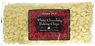 Trader Joe's White Chocolate Baking Chips (Pack of 2)