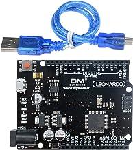 Diymore Leonardo R3 ATMEGA32U4-AU Placa de Desarrollo del microcontrolador para Arduino Leonardo con cabeceras y Cable USB