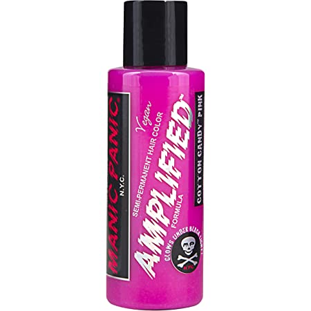 Manic Panic - Cotton Candy Pink Amplified Creme Vegan Cruelty Free Semi-Permanent Hair Colour 118ml