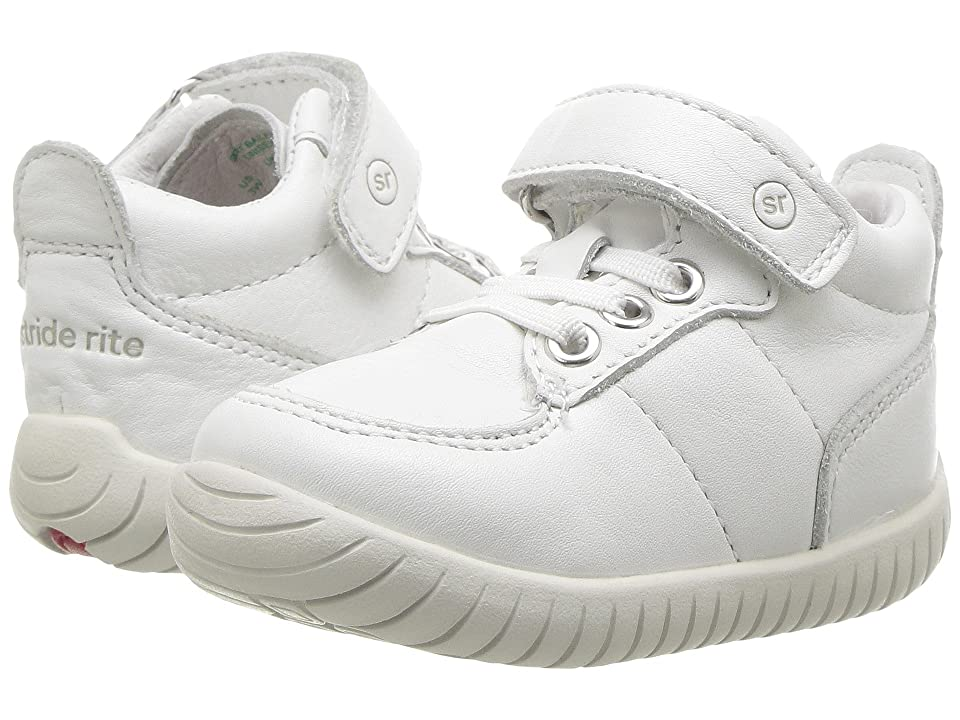 Stride Rite SRTech Bailey (Infant/Toddler) (White) Kids Shoes