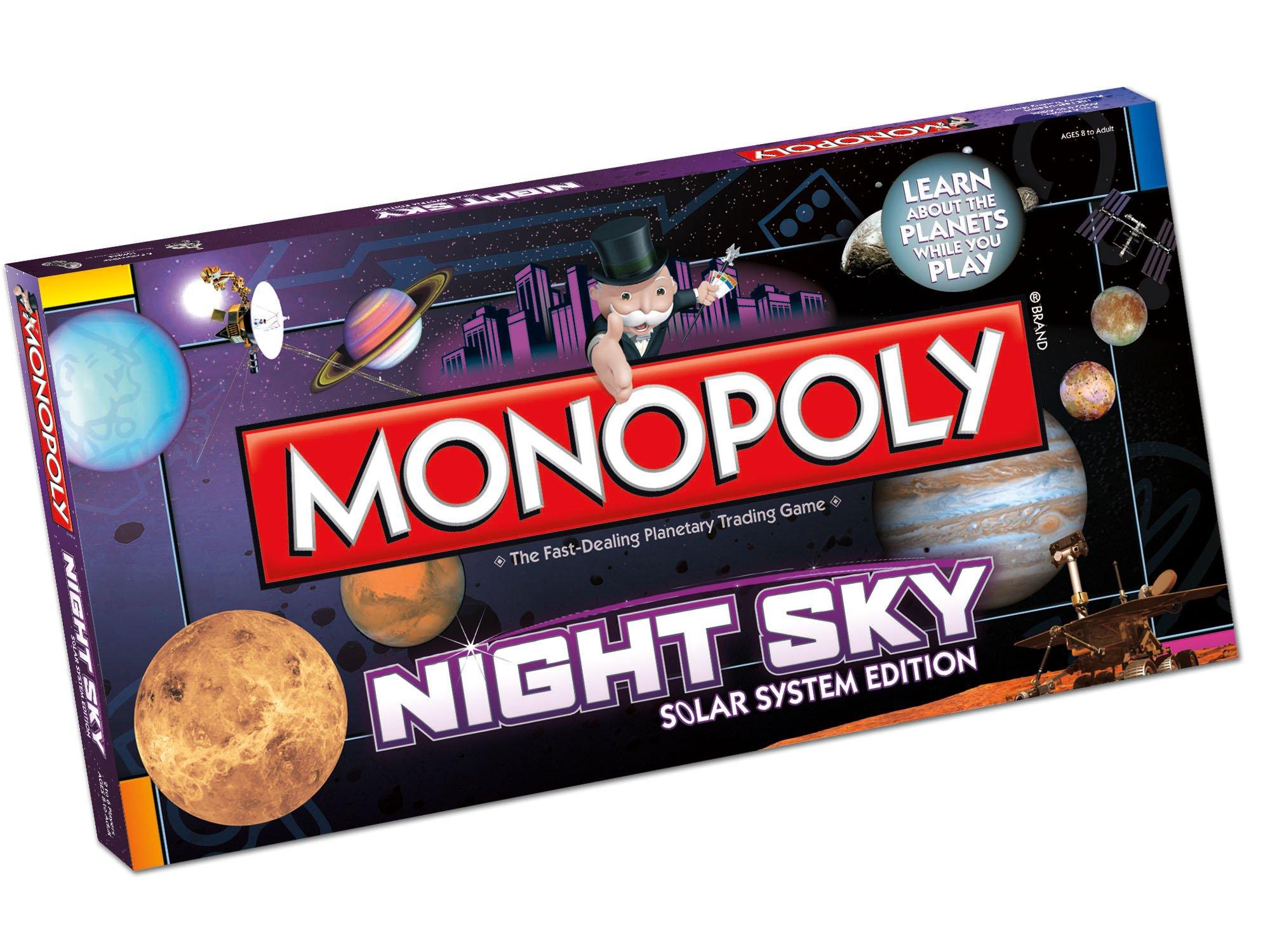Night Sky Monopoly: Night Sky Monopoly: Amazon.es: Juguetes y juegos