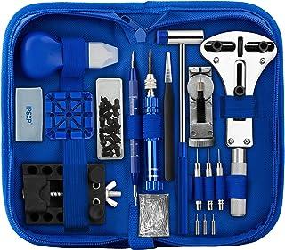IPSXP Kit de Réparation de Montre, Ensemble D'outils de Barre de Ressort Professionnel, Ensemble D'outils de Broche de Lie...