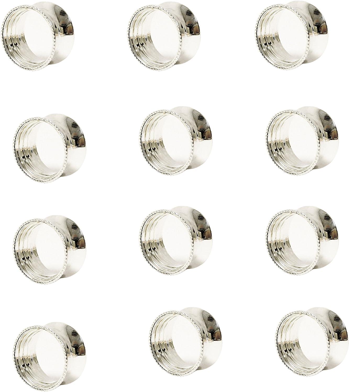 IMA BRASS Napkin Ring - pcs Nickel 36 Dealing full price Free shipping reduction