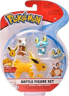 PoKéMoN Figure Battle 3-Pack, Froakie, Cubone & Jolteon, Newest Wave 2020