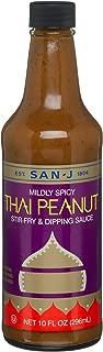 San-J Thai Peanut Sauce, 10-Ounce Bottles (Pack of 6)