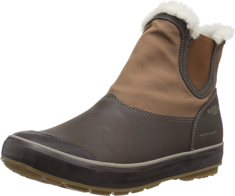 KEEN Women's Elsa Chelsea Wp-w Snow Boots