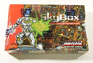 1993 Marvel Universe Series 4 (IV) Trading Cards Hobby Box (36 Packs of 10 Cards) (Spiderman, Captain America, The Avengers, X-Men, Fantastic Four, and more)