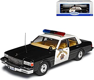 Model Car Group Chevy Chevrolet Caprice California Highway Patrol Police Polizei 3. Generation 1976 1990 1/18 Modell Auto