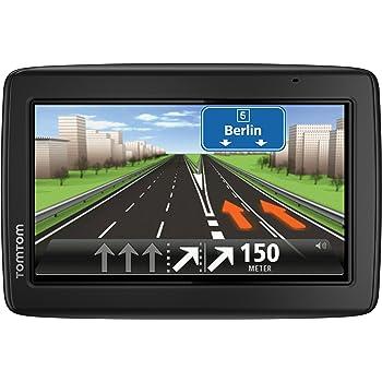 TomTom Start 25 M Europe Traffic Navigationsgerät, Karten ohne zusätzliche Kosten, 13 cm, 5 Zoll, Display, TMC, Fahrspurassistent, Parkassistent, IQ Routes, 49 Länder, Schwarz