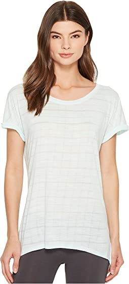 Splendid Studio Split Back Tee