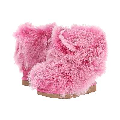 UGG Kids Pinkipuff Classic II (Toddler/Little Kid) (Pink Azalea) Girls Shoes