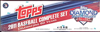 2011 Topps Factory Sealed Diamond Anniversary Baseball Card Set Includes Series 1 and 2 Limited Edition Mail-in Set - Complete 660 Baseball Card SET - Celebrating 60 Years