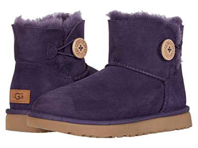 UGG Mini Bailey Button II (Nighshade) Women
