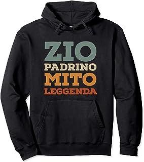 Zio Padrino Mito Leggenda Regalo per padrini Felpa con Cappuccio
