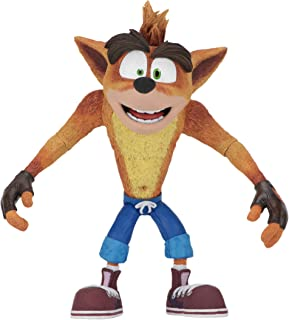 "NECA Crash Bandicoot - 7"" Scale Action Figure - Basic Crash Figure"