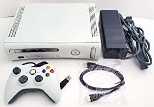 $109 » Microsoft Xbox 360 4GB Matte White Video Game Console System Bundle with Wired Controller (Renewed)
