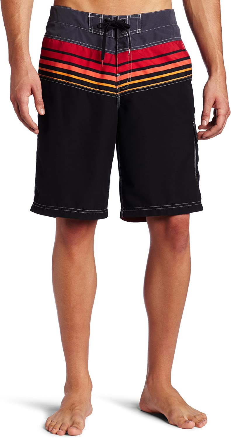 Speedo Men's Blended Stripe FLX System All stores are sold Shorts Year-end annual account Board