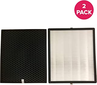 Think Crucial Replacement for Levoit LV-PUR131 Filter Kit: Air Purifier Filter & Activated Carbon Filter Fits LV-PUR131-RF