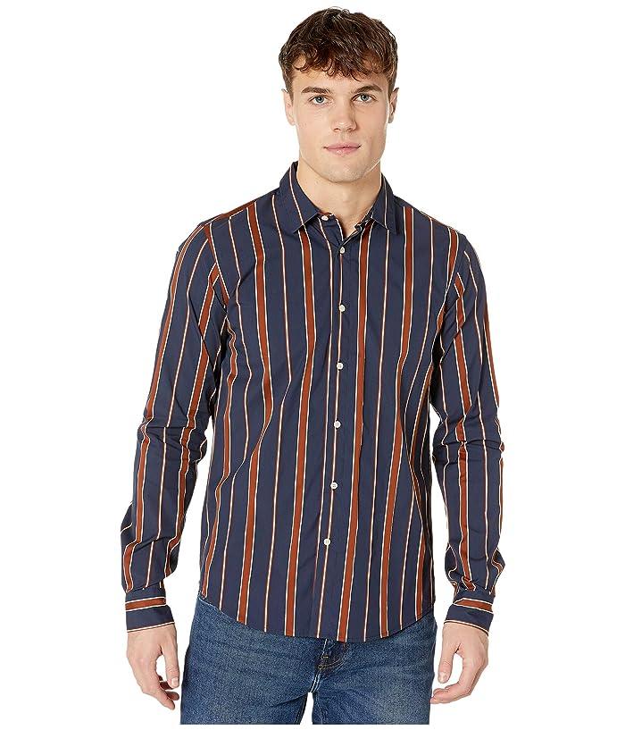 Mens Vintage Shirts – Casual, Dress, T-shirts, Polos Scotch  Soda Regular Fit - Shirt in Seasonal Yarn-Dyed Stripe Combo C Mens Clothing $70.15 AT vintagedancer.com