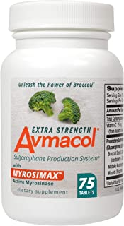 Avmacol Extra Strength Sulforaphane Production System for Immune Support, 75 Tablets