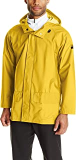 Helly Hansen Workwear Men's Mandal Durable Waterproof Hooded Rain Coat Jacket for Hunting and Fishing