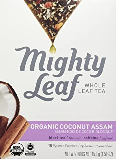 Mighty Leaf Tea Assam Coconut Organic, 15 ct