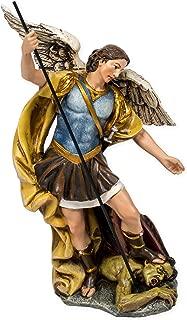 Renaissance Collection Joseph's Studio by Roman Exclusive St. Michael The Archangel Defeating Satan Figurine, 7.25-Inch