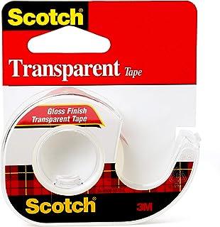Scotch Transparent Tape, 12.7mm x 11.4m, 144