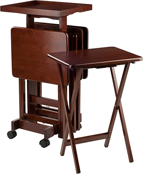 Winsome Wood 94828 Isabelle Snack Table Walnut