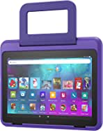 Amazon Kid-Friendly Case for Fire HD 8 tablet (Only compatible with 10th generation tablet, 2020 release), Doodle